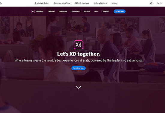 Adobe XD-Design Tools Rezourze.com