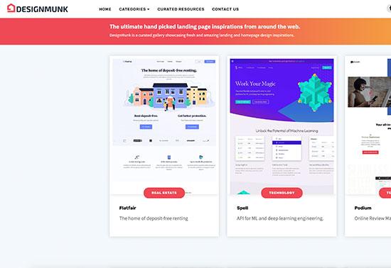 DesignMunk Best-Homepage-Design-Inspiration Rezourze.com