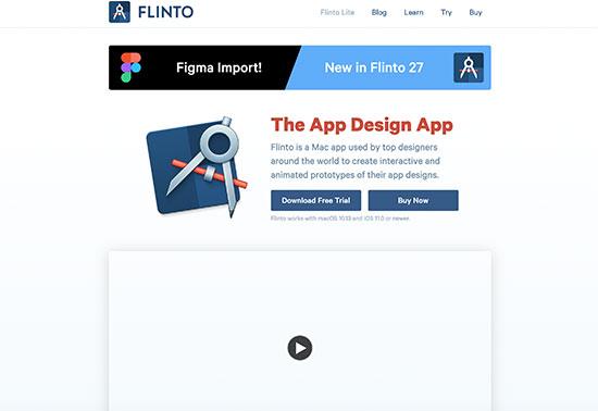 Flinto - Prototyping Tools Rezourze.com