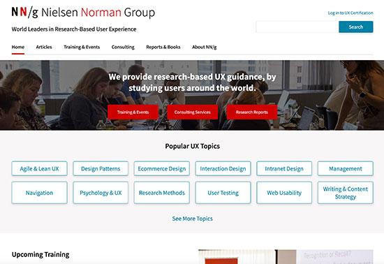 Nielsen Norman Group: UX Training, Consulting, & Research Rezourze.com