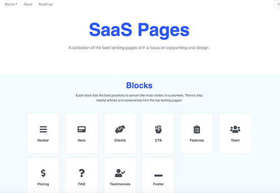 SaaS-Pages-design-inspiration Rezourze.com