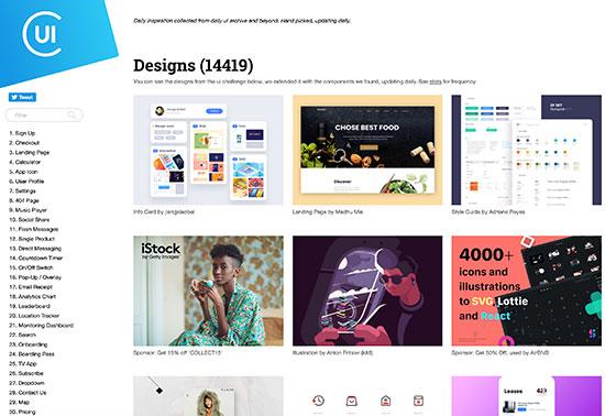 collectui-ui-ux-inspiration-design-resources Rezourze.com