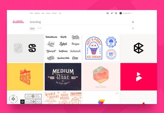 dribbble-ui-ux-inspiration-design-resources Rezourze.com