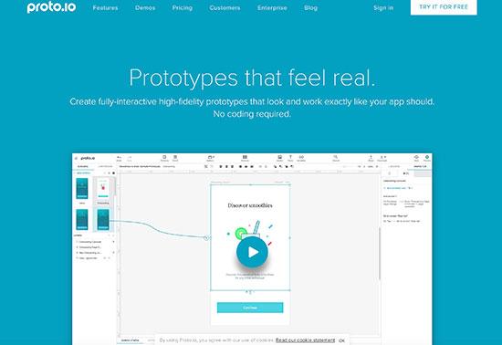 proto.io-Prototyping-Tools Rezourze.com