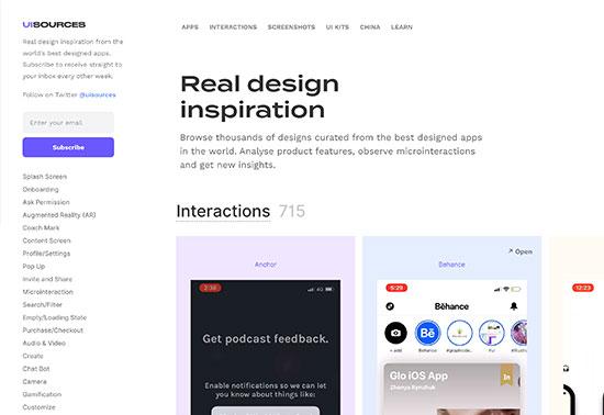 uisources-ui-ux-inspiration-design-resources Rezourze.com