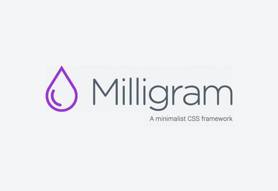milligram css framework