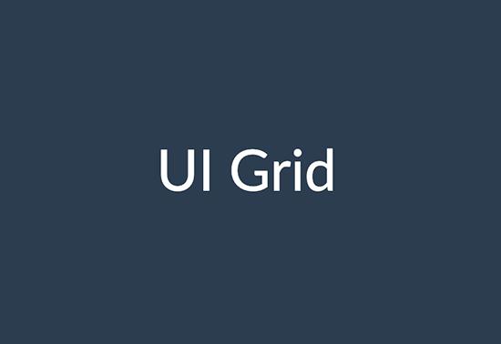 Angular-UI-Grid-Framework