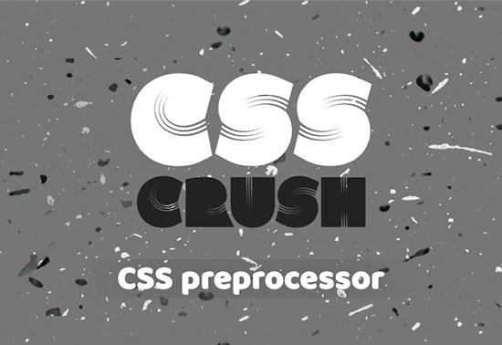 CSS Crush Preprocessors