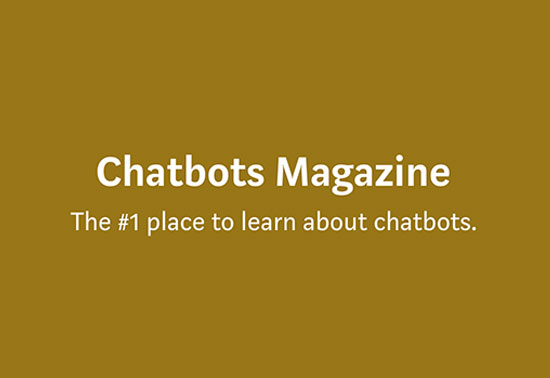 Chatbots Magazine, Artificial Intelligence Blog