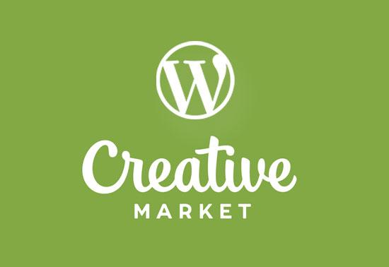 Creative WordPress Themes By Creative Market, WP Marketplaces