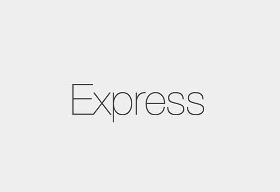 Express - Node.js web application framework