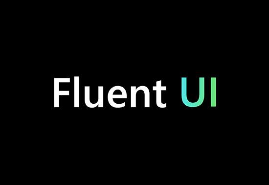 Fluent UI React FrameWork