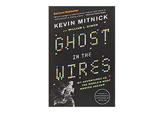 Ghost in the Wires, books for hacking, books on hacking, hacking book