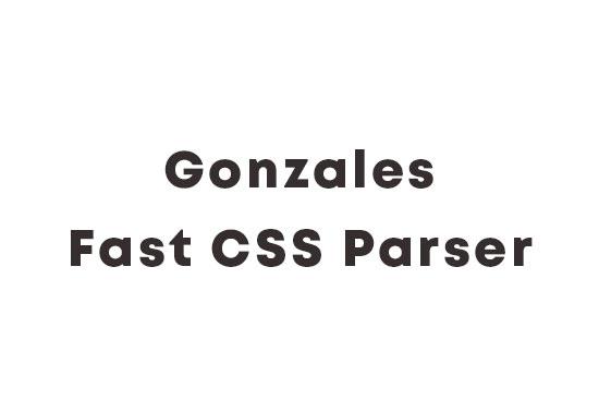 Gonzales Fast CSS Parser