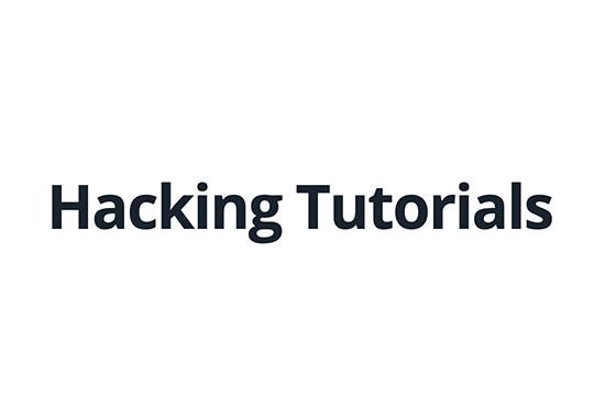 Hacking & Security Blog, Hacking Tutorials