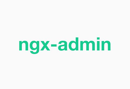 Ngx-admin Admin UI Frameworks