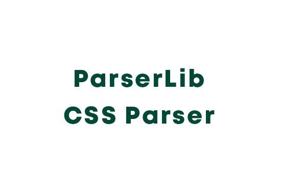 ParserLib CSS Parser