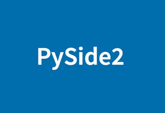 PySide GUI Libraries, pyside2