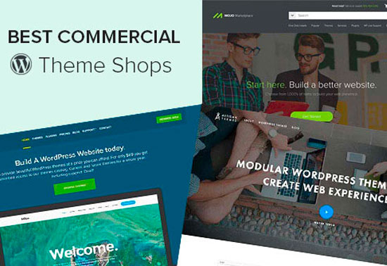 WordPress Commercial, WP Marketplaces