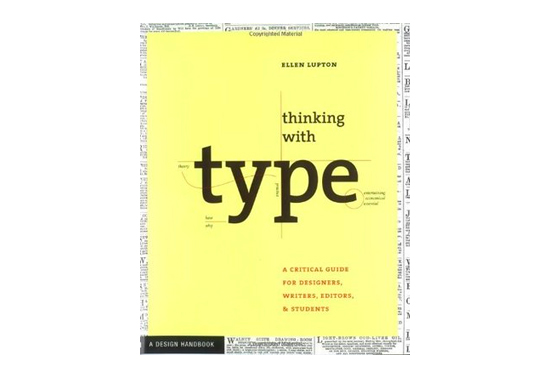Thinking with Type Book, Design Books, Design Resources, UI Books
