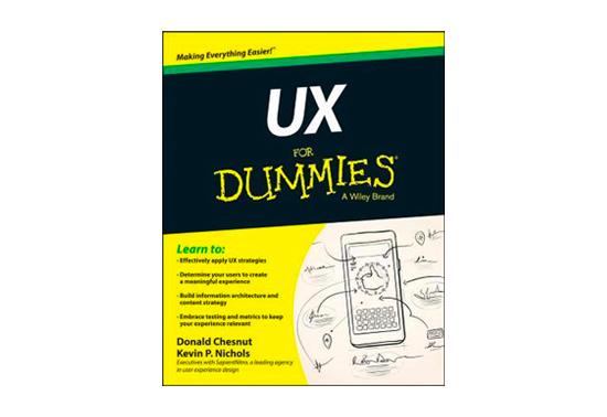 UX for Dummies, Design Books, Design Resources, UI Books, Creative Books