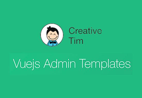 Vue Admin UI Framework