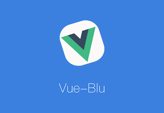 Vue-Blu is an UI component library base on Vuejs