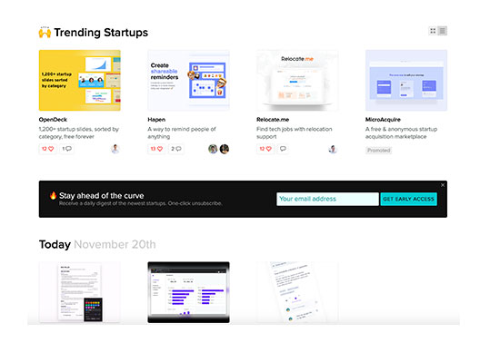 BetaList, Discover and get early access to tomorrow's startups