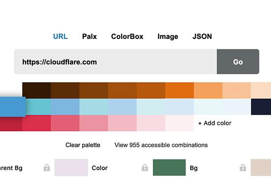 Cloudflare Design Color, Cloudflare Design
