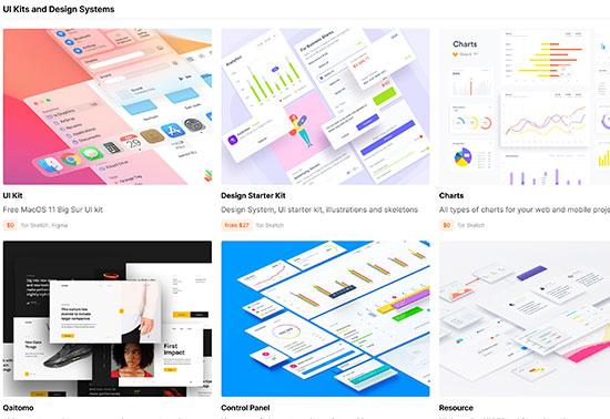 Download UI Kits, UX Tools, Wireframe kits, LS Graphics