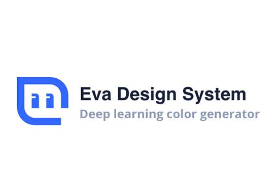 Eva Design System, Deep learning color generator