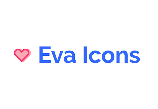 Eva Icons, beautifully crafted, Open Source UI icons
