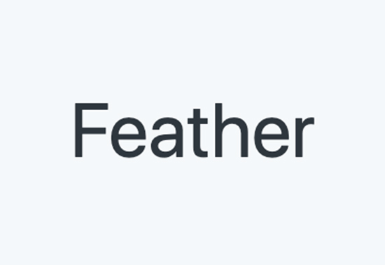 Feather Icons, Icons & Illustrations, feather icons list