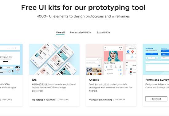 Free UI kits, UI Kits iOS, Web UI Kits