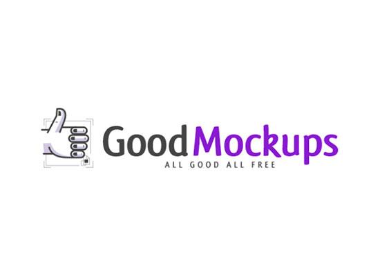 Good Mockups, Best Free Mockup PSD Files for Designers