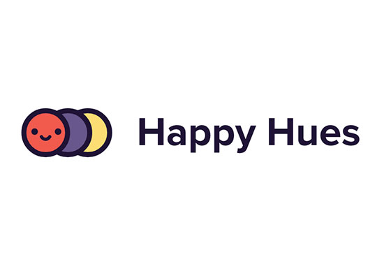 Happy Hues - Curated colors in context