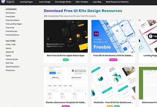 UI Kits - Lapa Ninja