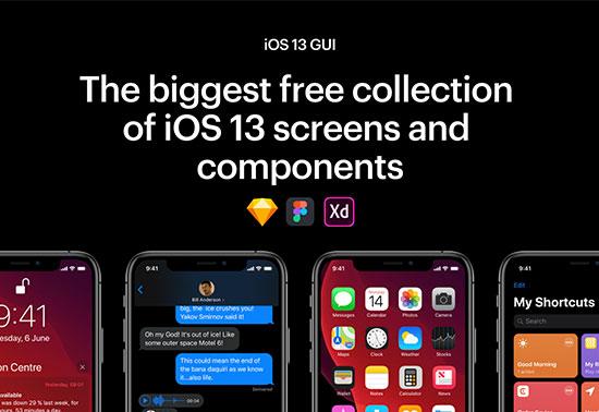 iOS 13 GUI, iOS Design Kit
