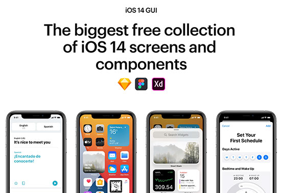 iOS 14 GUI