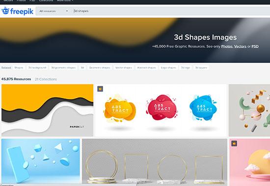 3d Shapes Images - Freepik
