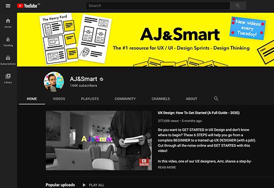 AJ&Smart YouTube Channels