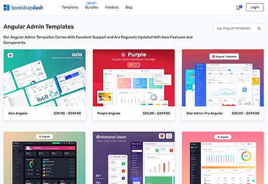 Angular Admin Templates - Bootstrapdash