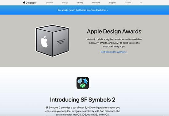 Apple Design System
