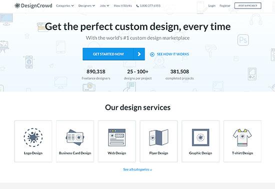 DesignCrowd, Freelance Logo Design, Web Design