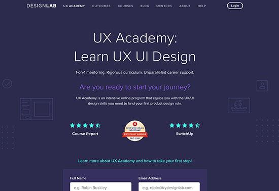 Designlab, Learn UX & UI Design Online