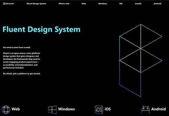 Fluent Design System By Microsoft Design