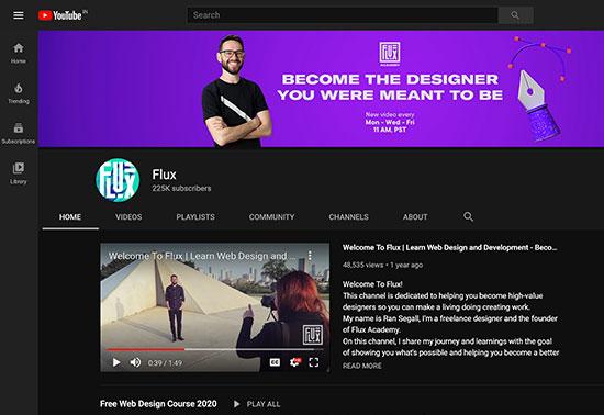 Flux YouTube Channels