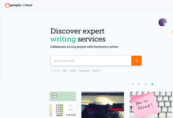 Hire Freelancers Online & Find, PeoplePerHour.com