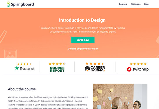 Introduction to Design, Springboard