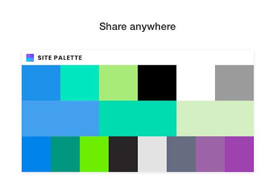 Site Palette Chrome Extensions